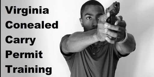 VIrginia Concealed Handgun Permit Training (Live Fire!)