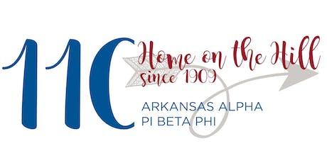 Arkansas Alpha Pi Beta Phi 110th Celebration Weekend tickets