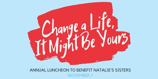 Annual Luncheon to Benefit Natalie's Sisters
