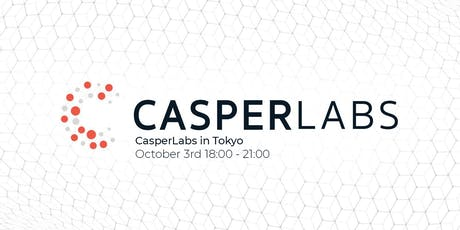 CasperLabs in Tokyo tickets