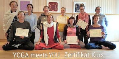 Yoga- Therapie & Yoga bei körperlichen Einschränkungen - Workshop@Bodensee