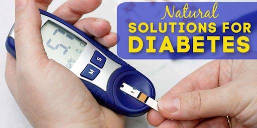 Diabetes Seminar: A Natural Approach to Health