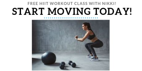 FREE HIIT Workout Class! tickets
