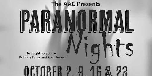 AAC Paranormal Nights