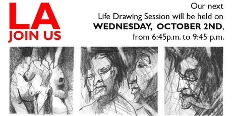 Life Drawing @LehrerArchitects,WEDNESDAY OCTOBER 2ND tickets
