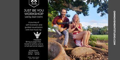 Just Be You Workshop with Joan Varini and Andrade World Music