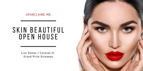 Sparclaine Skin Beautiful Open House tickets
