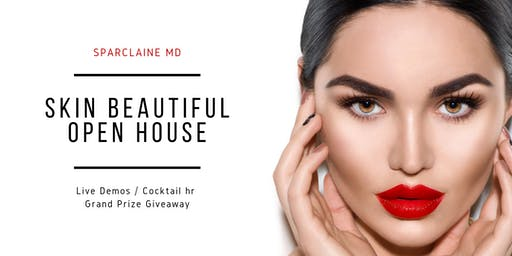 Sparclaine Skin Beautiful Open House