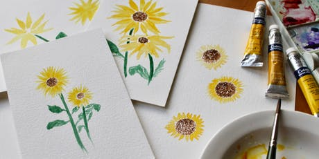 Fall Leaves Watercolor & Spritz Workshop tickets