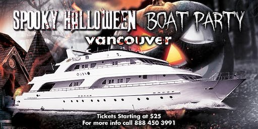 Spooky Halloween Boat Party Vancouver