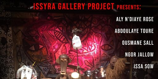Issyra Gallery Project presents « Night of Drums »