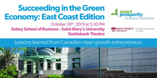 Succeeding in the Green Economy: East Coast Edition