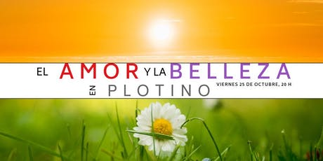 Conferencia gratuita: El amor y la belleza en Plotino. tickets
