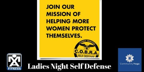 Ladies Night Self Defense Class tickets