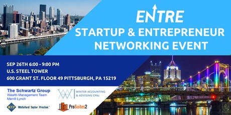 Startup & Entrepreneur Networking - Pitts tickets