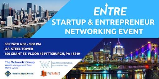 Startup & Entrepreneur Networking - Pitts