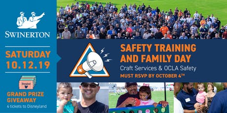 Swinerton Safety Training  and Family Day tickets