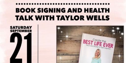 Health Talk and Book Signing:  Law of Attraction and Juice PLUS+