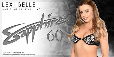 Lexi Belle Saturday 9.21.19 Sapphire NY! tickets