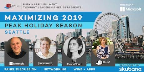 Maximizing 2019 Peak Holiday Season tickets