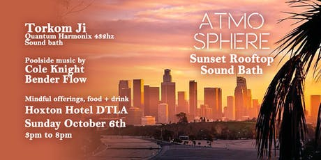Atmosphere // Sunset Rooftop Sound Bath tickets