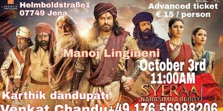 Syera Narasimha Reddy Tickets