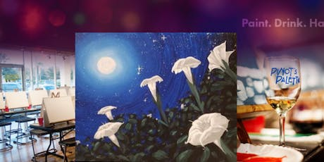 Moon Flowers with Tipsy Tuesday's Half-Priced Bottles of Wine tickets
