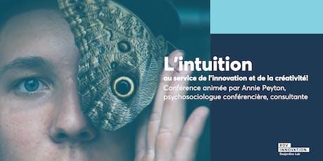 L'intuition au service de l'innovation et de la créativité ! billets