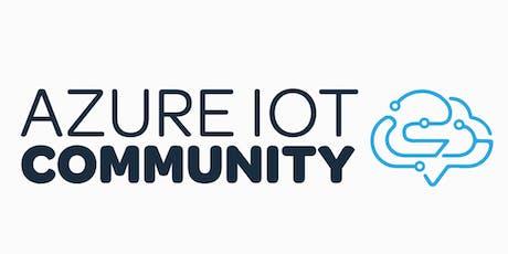 Azure IoT Community avond 2019 bij Atos tickets