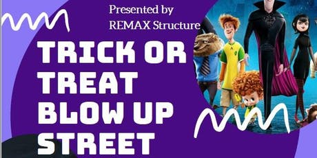 Trick or Treat BLOW UP Street tickets
