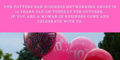 10th  Birthday Meeting Athena Network  Potters Bar Group tickets