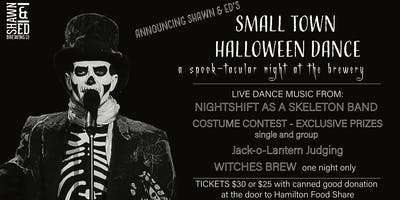 Shawn &  Ed Presents Small Town Halloween Dance