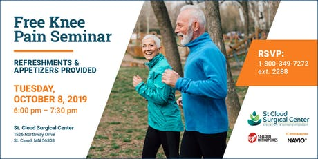See Past Knee Pain with Navio Technology - Free Community Seminar tickets