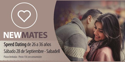 Speed dating en Sabadell - 26 a 36