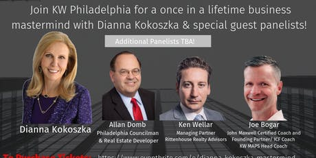 MARKET MAKERS 2019! Dianna Kokoszka Mastermind & Special Guest Panel tickets