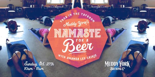 Namaste For A Beer With Amanda Lee Caskie