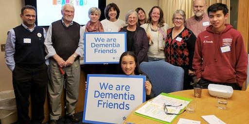 Dementia Friends Information Session at Prospect Senior Center