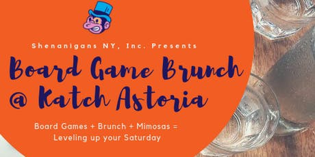 Astoria Board Game Brunch tickets