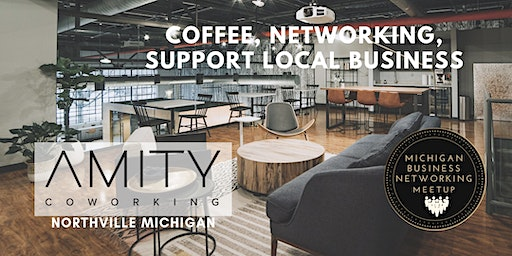December Northville Coffee & Networking at Amity Coworking Space