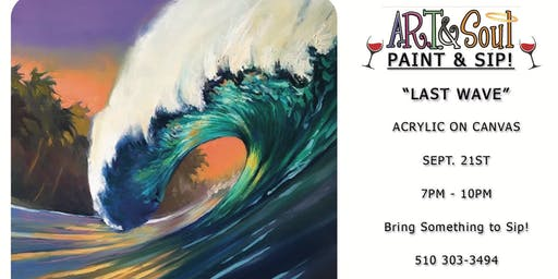 "Paint Night: ""The Last Wave"""