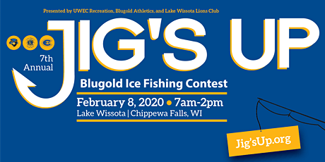 Jig's Up Blugold Ice Fishing Contest on Lake Wissota tickets