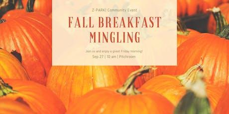 Fall  Breakfast Mingling - FREE Tickets Limited! tickets