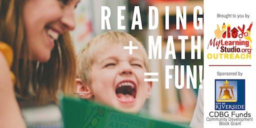 READING + MATH = FUN!