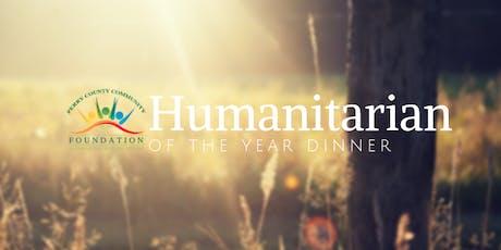 Humanitarian Dinner tickets