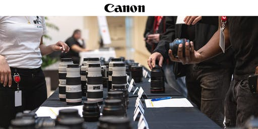 Canon's Exclusive Lens Test Drive Event