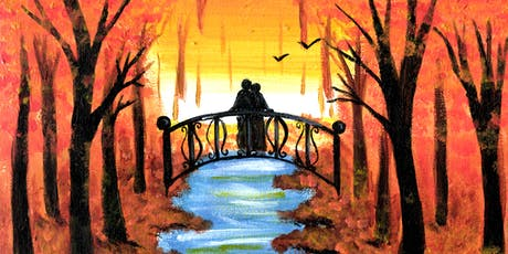 Painting and Wine Night - Romantic Autumn tickets
