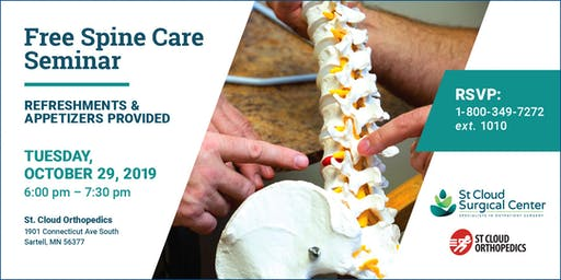 State-of-the-Art Spine Care - Free Community Seminar