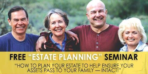 """Free """"Estate Planning"""" Seminar - MO"""
