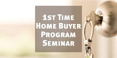 First time home buyer information seminar