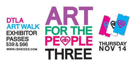 InnerSpace LA presents Art for the People III tickets